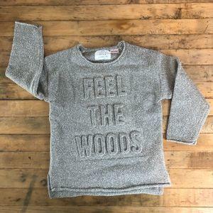 Zara Knit Wear Feel The Woods Boy Sweater